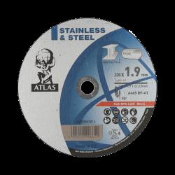 Tarcza ATLAS INOX 230x1,9x22,23